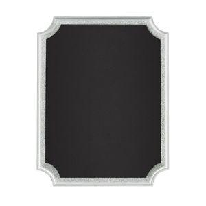 🔴 3/$10 Set of 2 Silver Glitter Chalkboard Signs